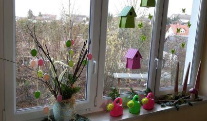 Fensterdeko Frühling