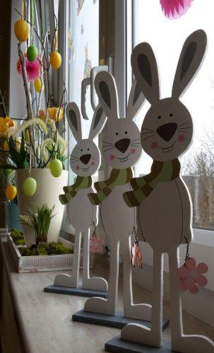Fensterdeko Ostern