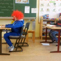 Sams in der Schule...