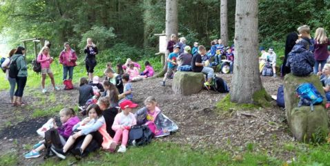 Picknick im Grünen Klassenzimmer