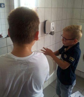Wie wäscht man eigentlich seine Hände richtig?